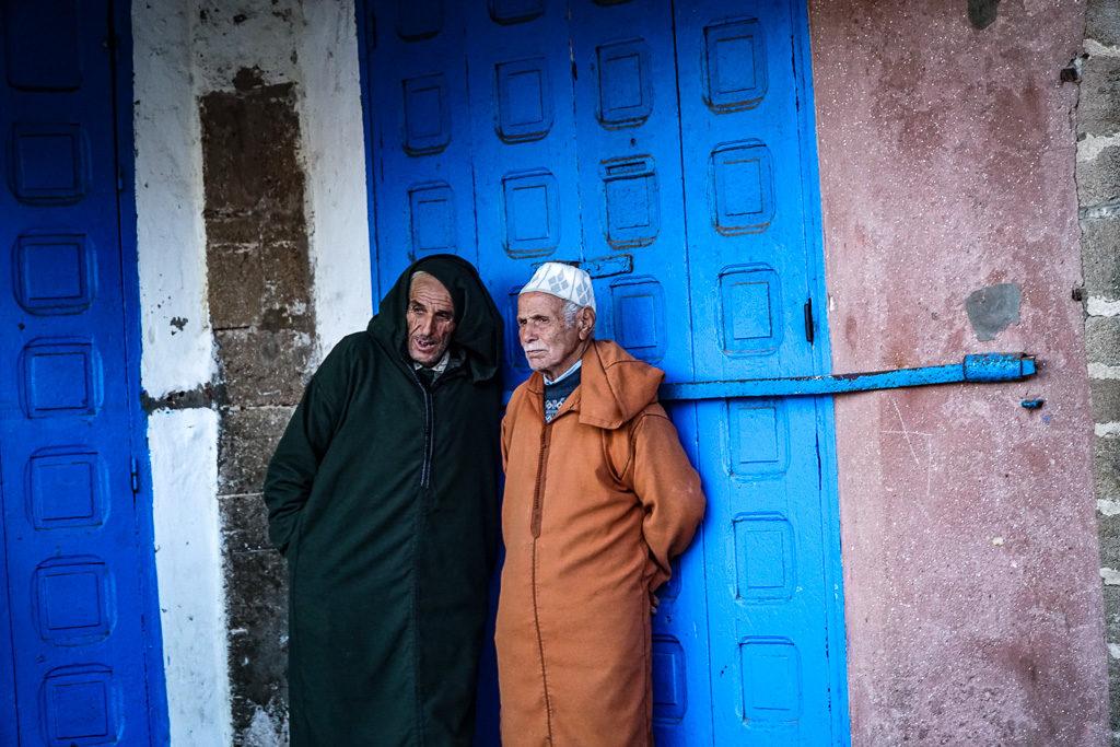 Essaouira / Ludzie w Maroko