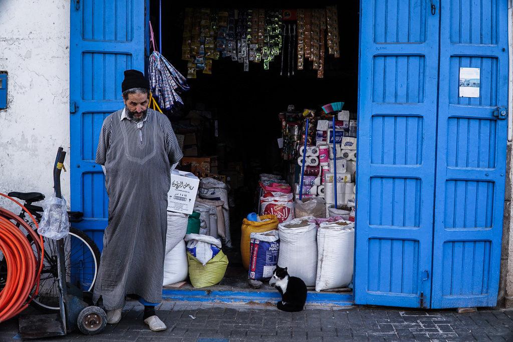 Essaouira / Ludzie w Maroku