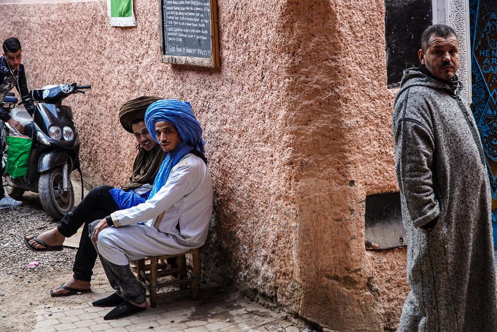 Marrakesz / Ludzie w Maroku
