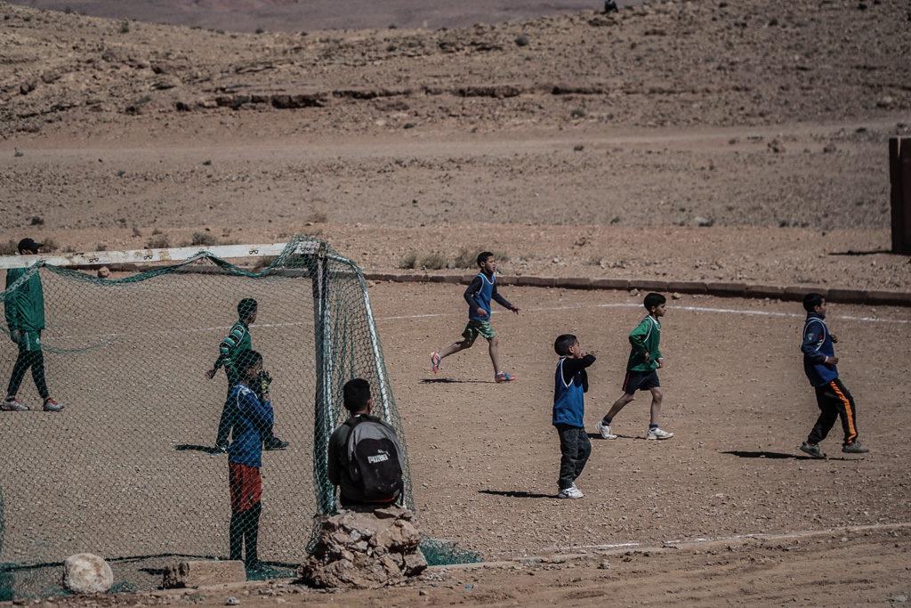 Ludzie w Maroko
