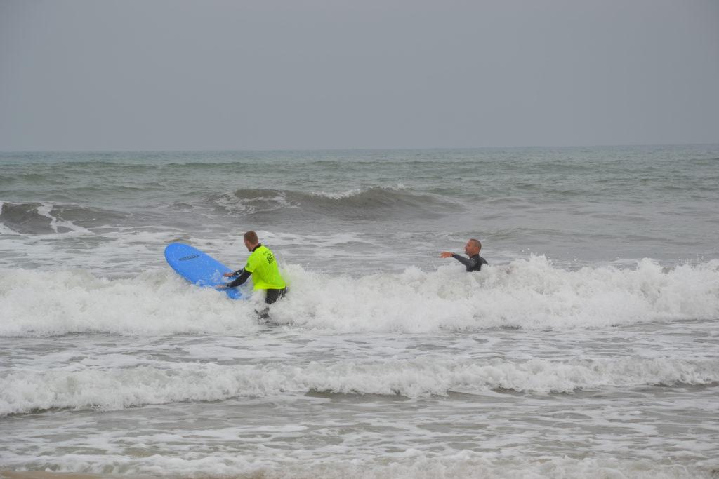 Surfing w Peniche