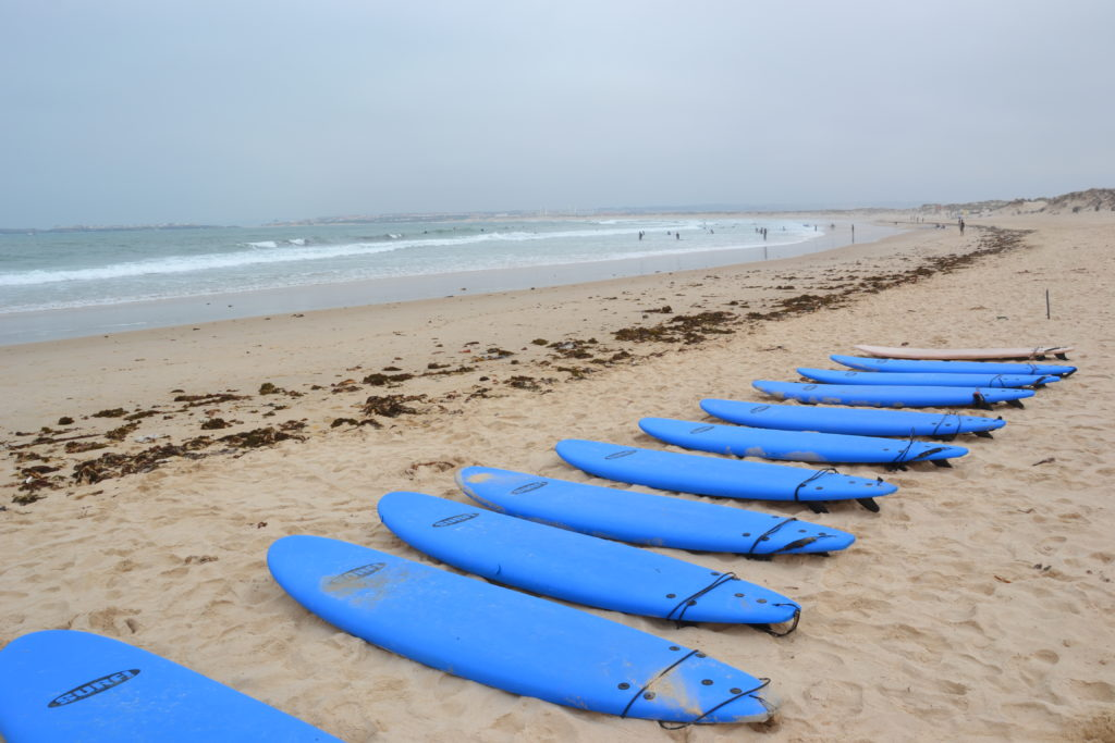 Plaża w Peniche