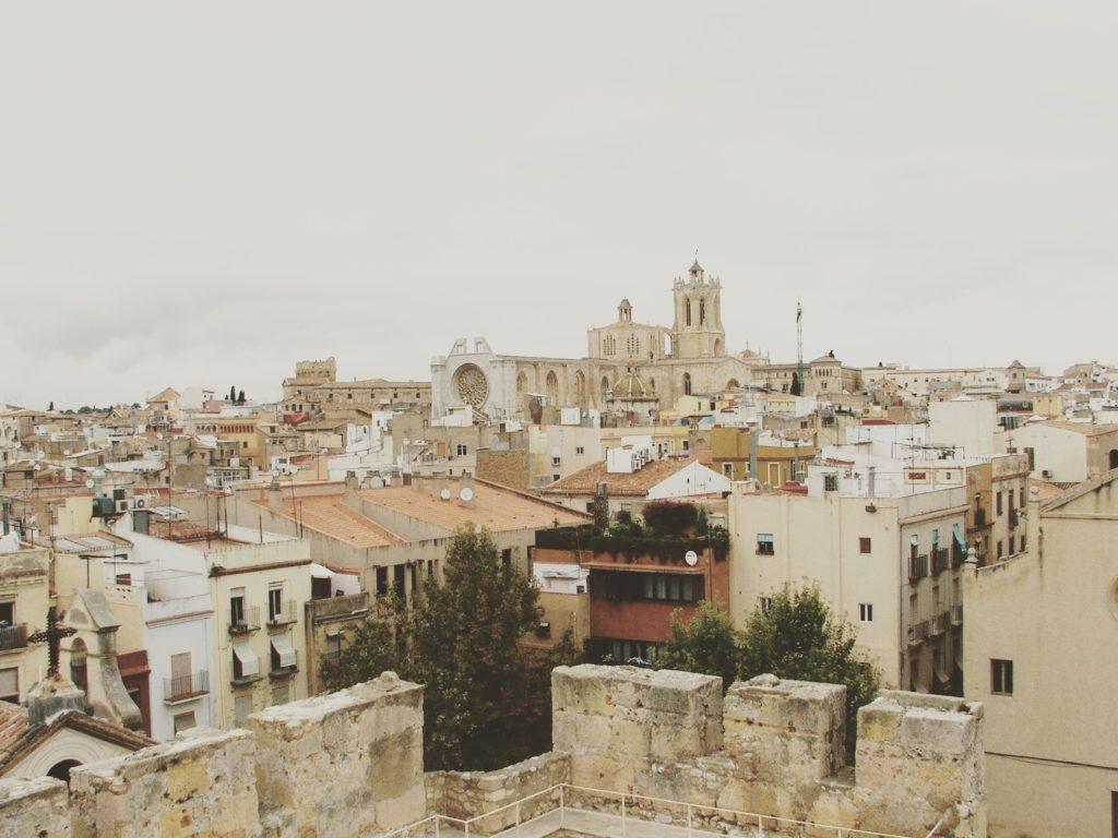 Widok na starą część Tarragony