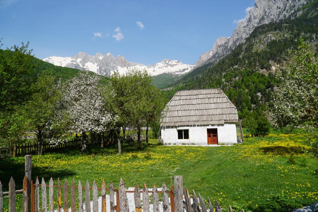 Dom w dolinie Valbone