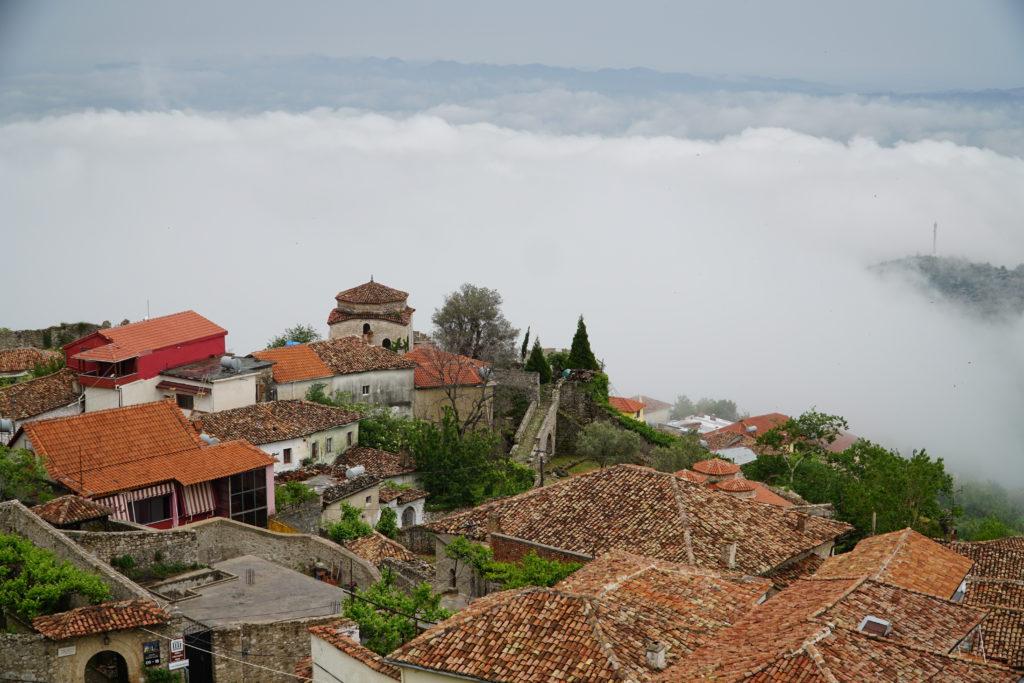 Najstarsza część miasta Kruje