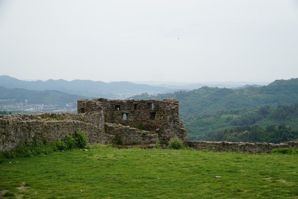 Ruiny zamku Preza