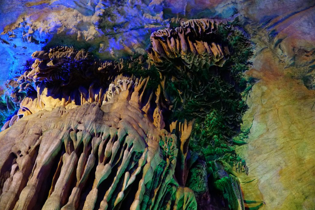Reed Flute Cave / Jaskinia w Chinach